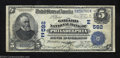 National Bank Notes:Pennsylvania, Philadelphia, PA - $5 1902 Date Back Fr. 590 The Girard ...