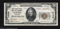 National Bank Notes:Tennessee, Memphis, TN - $20 1929 Ty. 2 Union Planters NB & TC Ch....