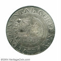 Colonials: , 1776 $1 Continental Dollar, CURRENCY, Pewter AU58 PCGS. ...