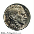 Proof Buffalo Nickels: , 1936 5C Type One--Satin Finish PR67 PCGS. A delightfully ...