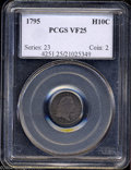 Early Half Dimes: , 1795 H10C VF25 PCGS. V-4, LM-10, R.3. The final star has ...