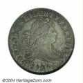 Early Dimes: , 1796 10C AU58 NGC. JR-2, R.4. The date is spaced 1 796, ...