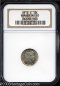 Barber Dimes: , 1916-S 10C MS65 NGC. Russet and blue patina covers much ...