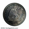 Seated Quarters: , 1844-O 25C MS66 NGC. Ex: Pittman. With a sizeable ...