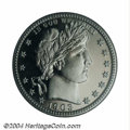 Proof Barber Quarters: , 1903 25C PR66 Cameo PCGS. Only 755 proofs were struck of ...