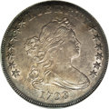 Early Dollars, 1798 $1 Pointed 9, 10 Arrows AU55 NGC....