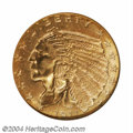 Indian Quarter Eagles: , 1911-D $2 1/2 MS64 NGC. The 1911-D has an impressively ...