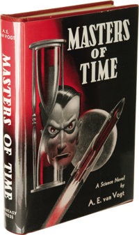 A.E. van Vogt: Author's Personal Gift Copy of Masters of Time. (Reading, Pennsylvania: Fantasy Press, 1950), first editi...