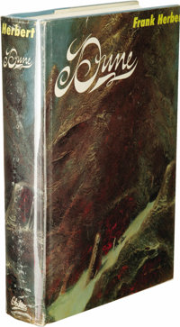 Frank Herbert: Dune First Edition. (Philadelphia: Chilton Books, 1965), first edition, first printing, 412 pages, ba