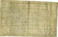 """Autographs:U.S. Presidents, President Andrew Jackson Land Grant Document Signed, one page, on parchment, 15.5"""" x 9.25"""", November 1, 1830. President Jack..."""