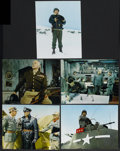 """Movie Posters:War, Patton (20th Century Fox, 1970). Lobby Cards (5) (11"""" X 14""""). War.Starring George C. Scott, Karl Malden, Stephen Young and ...(Total: 5 Items)"""
