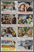 "Movie Posters:Comedy, The Long, Long Trailer (MGM, 1954). Lobby Card Set of 8 (11"" X14""). Comedy. Starring Lucille Ball, Desi Arnaz, Marjorie Mai...(Total: 8 Items)"