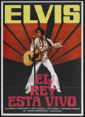 """Movie Posters:Elvis Presley, Elvis (ABC Pictures, 1979). Spanish Language One Sheet (27"""" X 41""""). Drama. Starring Kurt Russell, Shelley Winters, Bing Russ..."""