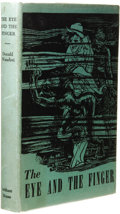 Books:First Editions, Donald Wandrei: The Eye and the Finger. (Sauk City: ArkhamHouse, 1944), first edition, 344 pages, jacket design by Howa...
