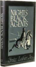 Books:First Editions, Fritz Lieber, Jr.: Night's Black Agents. (Sauk City: ArkhamHouse, 1947), first edition, 237 pages, jacket design by Ron...