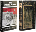 Books:First Editions, J. Sheridan Le Fanu: Two Book Lot, including:. Green Tea AndOther Ghost Stories. (Sauk City: Arkham House, 1945), f... (Total:2 )