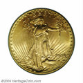 Saint-Gaudens Double Eagles: , 1909 $20 MS65 PCGS. The 1909-P is a highly respected ...