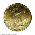 Saint-Gaudens Double Eagles: , 1909-D $20 MS65 PCGS. In its second year of production ...