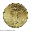 Saint-Gaudens Double Eagles: , 1931 $20 MS65 PCGS. Since virtually the entire extant ...