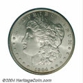 Morgan Dollars: , 1904 $1 MS65 PCGS. This lustrous Gem is noticeably free ...