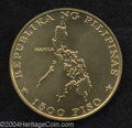 Philippines: , Republic. Gold 1500 Piso 1976, KM216, choice BU, IMF ...