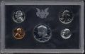 Proof Sets: , 1971-S Proof Set with scarce No S Nickel, all PR65 or ... (5 coins)