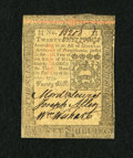 Colonial Notes:Pennsylvania, Pennsylvania October 1, 1773 20s Choice About New+++....