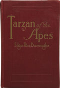 Books:First Editions, Edgar Rice Burroughs. Tarzan of the Apes. Chicago: A. C.McClurg and Co., 1914....