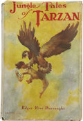 Books:First Editions, Edgar Rice Burroughs. Jungle Tales of Tarzan. Chicago: A. C.McClurg & Co., 1919....