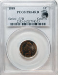 Proof Indian Cents, 1888 1C PR64 Red PCGS....