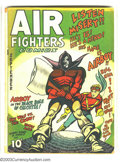 Golden Age (1938-1955):War, Air Fighters Comics V1#12 (Hillman Fall, 1943) Condition: GD/VG.Features Airboy, Skywolf, and Iron Ace. Overstreet 2003 GD ...