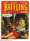 Golden Age (1938-1955):Horror, Baffling Mysteries #8 (Ace, 1952) Condition: VF. Wally Woodish artby Lou Cameron. Overstreet 2003 VF 8.0 value = $138. Fr...