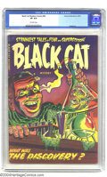 Golden Age (1938-1955):Horror, Black Cat Mystery #46 (Harvey, 1953) CGC VF 8.0 Off-white pages.Bob Powell art. Just two copies of issue #46 have received ...