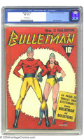 Golden Age (1938-1955):Superhero, Bulletman #2 (Fawcett, 1941). CGC VF- 7.5 Off-white pages. Few second issue Golden Age comics are as recognizable this one w...