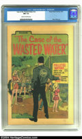 Bronze Age (1970-1979):Miscellaneous, Case of the Wasted Water #nn - Promotional Comic (Rheem WaterHeating, 1972) CGC NM 9.4 Cream to off-white pages. Environmen...