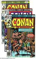 Bronze Age (1970-1979):Miscellaneous, Conan The Barbarian Issues #80-99 Group (Marvel, 1977-79)Condition: Average VF/NM. Twenty issues, featuring art by JohnBus... (Total: 20 Comic Books Item)