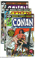 Bronze Age (1970-1979):Miscellaneous, Conan The Barbarian Issues #100-129 Group (Marvel, 1979-81)Condition: Average VF/NM. Thirty issues featuring art by John Bu...(Total: 30 Comic Books Item)