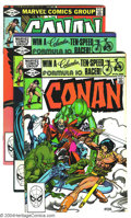 Bronze Age (1970-1979):Miscellaneous, Conan The Barbarian Issues #130-149 Group (Marvel, 1981-83)Condition: Average VF+. Twenty issues featuring art by John Busc...(Total: 20 Comic Books Item)