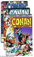 Bronze Age (1970-1979):Miscellaneous, Conan The Barbarian Group 0f 35 (Marvel, 1973-90) Condition:Average VF+. Issues #150-172, 177-179, King-Size Conan #1, and ...(Total: 35 Comic Books Item)
