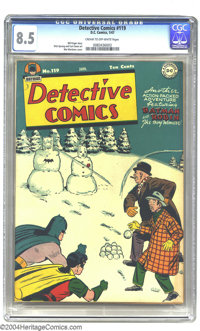 Detective Comics #119 (DC, 1947) CGC VF+ 8.5 Cream to off-white pages. Win Mortimer cover. Dick Sprang and Curt Swan art...