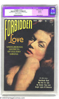 Golden Age (1938-1955):Romance, Forbidden Love #1 (Quality, 1950) CGC Apparent FN/VF 7.0 Slight (P)Off-white to white pages. Classic photo cover. Overstree...