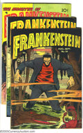 Bronze Age (1970-1979):Horror, Frankenstein Comics Group (Prize, 1952-54). This lot consists ofthree comics #20 (Apparent GD) (color touch and tape); 22 (...(Total: 3 Comic Books Item)