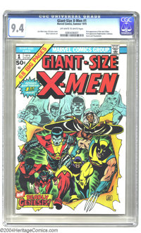 Giant-Size X-Men #1 (Marvel, 1975) CGC NM 9.4 Off-white to white pages. First appearance of New X-Men. First appearance...