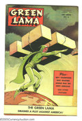 Golden Age (1938-1955):Science Fiction, Green Lama #6 (Spark Publications, 1945) Condition: FR. FeaturesBoy Champions, Rick Masters, and Lieutenant Hercules. Mac R...