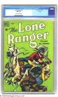 Golden Age (1938-1955):Western, The Lone Ranger #26 File Copy (Dell, 1950) CGC NM- 9.2 Cream to off-white pages. Highest grade yet assigned by CGC for this ...