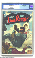 Golden Age (1938-1955):Western, The Lone Ranger #62 File Copy (Dell, 1953) CGC NM 9.4 Off-white pages. Highest grade yet assigned by CGC for this issue. Ove...
