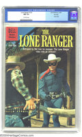 Silver Age (1956-1969):Western, The Lone Ranger #132 File Copy (Dell, 1960) CGC NM 9.4 Off-whitepages. Photo cover. Tied with one other copy for highest-gr...