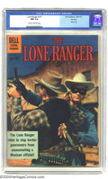 Silver Age (1956-1969):Western, The Lone Ranger #137 File Copy (Dell, 1961) CGC NM 9.4 Cream tooff-white pages. Photo cover. Just one copy of this issue ha...