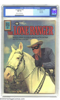 Silver Age (1956-1969):Western, The Lone Ranger #139 File Copy (Dell, 1961) CGC NM 9.4 Cream tooff-white pages. Photo cover. Tied with one other copy for h...