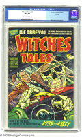 Golden Age (1938-1955):Horror, Witches Tales #20 File Copy (Harvey, 1953) CGC VF+ 8.5 Cream tooff-white pages. A dazzling cover helps this copy look way n...